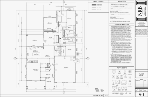 Nrb drafting paso robles ca construction documents for Construction documents example